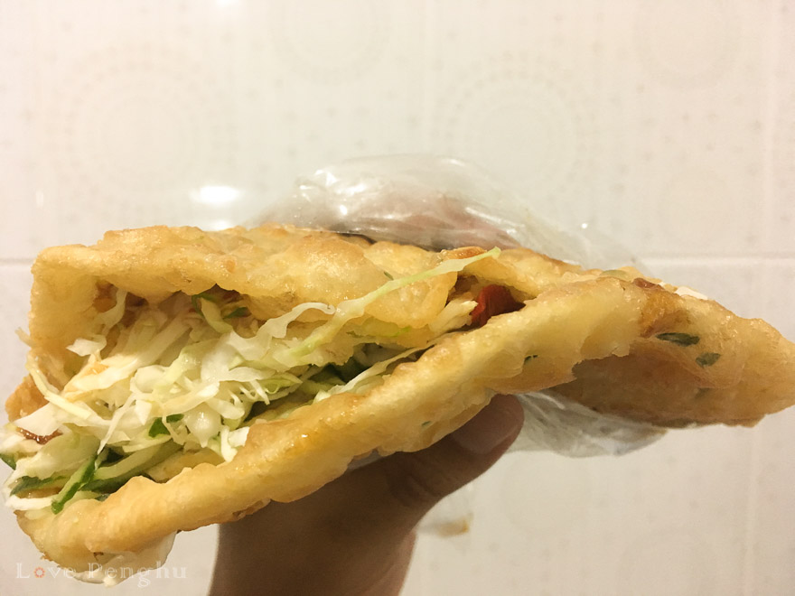 澎湖(ポンフー)の郵局蔥油餅