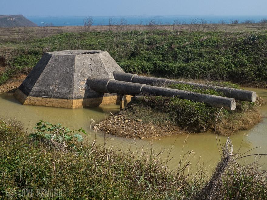 澎湖(ポンフー)の軍事遺跡「西嶼餌砲」